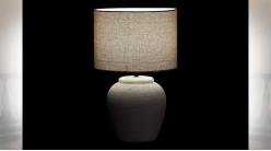 LAMPE DE TABLE PORCELAINE 28X28X44 2 MOD.