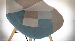 CHAISE POLYESTER PIN 47X49X83 47CM PATCHWORK