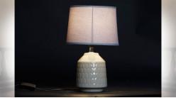 LAMPE DE TABLE DOLOMITE 20X20X30 BRILLANT 2 MOD.