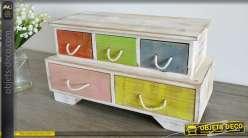 Rangement meuble pices for Mini meuble tiroir