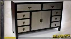 meuble de m tier style brocante 9 tiroirs. Black Bedroom Furniture Sets. Home Design Ideas