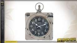 Horloge Café de la Gare de style rétro