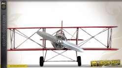 Modèle réduit biplan Fokker allemand