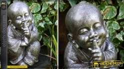 Statuette de moine tibétain 39 cm