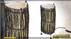 Lampe décorative en coco de style ethnique