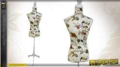 Mannequin de couture de décoration en tissu de stye vintage