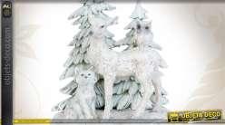 Statuette décorative pour décor de Noël