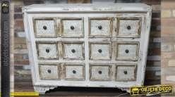 commode arbal te de style louis xv 3 tiroirs coloris cr me. Black Bedroom Furniture Sets. Home Design Ideas