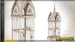 Cage à oiseaux à suspendre de style ancien