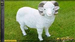 Statuette animalière : Le bélier