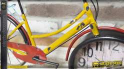 Horloge de table déco vélo coloris divers