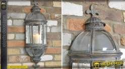 Lanterne applique murale de style rétro 79 cm