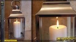 Lanterne décorative en acier inoxydable