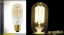 Ampoule E27 forme de bulbe modèle EDISON avec filaments intérieurs