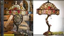 Déco Hortensis 62 Lampe Cm Tiffany Grande Art 1900 Sylvia De Style rtsdCxhQ