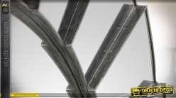 Miroir circulaire multifacettes de style vénitien Ø 56 cm