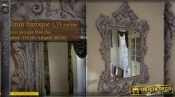 Miroir dor de style ancien 1 25 m for Miroir baroque grande taille
