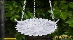 Bain d'oiseau en métal, collection Bath'Bird, modèle à suspendre 50cm