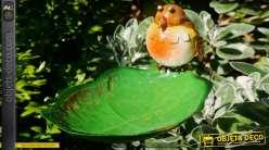 Bain d'oiseau en métal, collection Bath'Bird, modèle à piquer 81cm