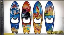 OUVRE BOUTEILLE MÉTAL 3,5X12,5 SURF 4 MOD.