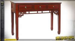 CONSOLE ORME 113X38X83 ROUGE