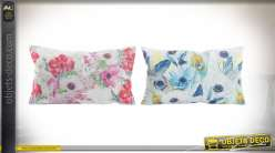 COUSSIN POLYESTER 50X30 PLUMES 2 MOD.
