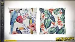 COUSSIN POLYESTER 45X45 500 GR. TROPICAL 2 MOD.