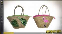 SAC A MAIN SEAGRASS 51X16X30 24480 TROPICAL 2 MOD.