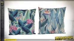 COUSSIN POLYESTER 45X45 400 GR. TROPICAL 2 MOD.