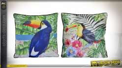COUSSIN POLYESTER 45X45 450 GR. TOUCAN 2 MOD.