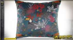 COUSSIN POLYESTER 45X45 520 GR. TOUCAN VELOURS