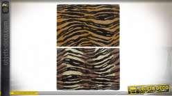 PAILLASSON FIBRE COCO PVC 60X40X1,5 TIGRE 2 MOD.
