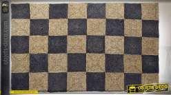 TAPIS FIBRE 60X90 000 GR. TABLEAUX NATUREL