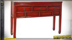 CONSOLE ORME 128X30X88 ROUGE