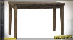 CONSOLE BOIS RECYCLE 120X40X78