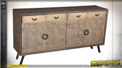 COMMODE MANGUE MDF 180X47X97 71 CERCLES