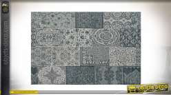 TAPIS COTON POLYESTER 120X180X1 PATCHWORK