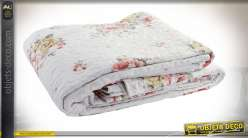 COUVRE-LIT COTON POLYESTER 240X260 285 GSM. FLORAL