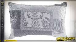 COUSSIN COTON POLYESTER 60X40 400 GR. PATCHWORK