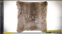 COUSSIN ACRYLIQUE POLYESTER 45X45 450 GR. POILS