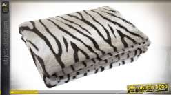COUVERTURE POLYESTER 150X200 330 GSM. ZEBRE