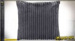 COUSSIN POLYESTER 45X45 380 GR. GRIS