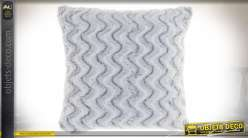 COUSSIN POLYESTER 45X45 380 GR. BLANC
