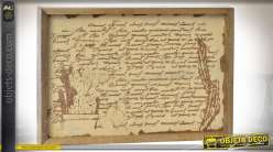 PLATEAU MANGUE 30,5X20,5X3 CACTUS GRAVÉ
