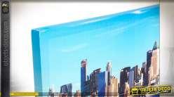 TABLEAU TOILE 150X30X3 NEW YORK 2 MOD.