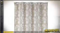 RIDEAU POLYESTER 140X270 180 GSM. BEIGE