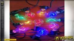 GUIRNALDA LED CRISTAL 6X840 10LEDS E27 SPIRAL IP44