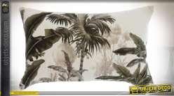 COUSSIN COTON 50X30 450 GR. COLONIAL VELOURS VERT