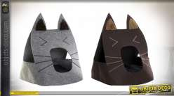 NICHE ANIMAL DE COMPAGNIE FEUTRE 40X40X54 CHAT 2 M
