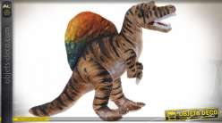 PELUCHE POLYESTER 36X18X36 DINOSAURE